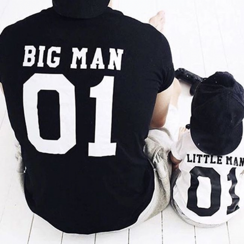 BIG MAN LITTLE MAN T-SHIRT